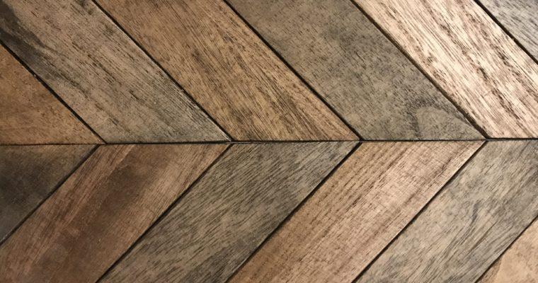 端材と100均素材で作るヘリンボーンのトレイ