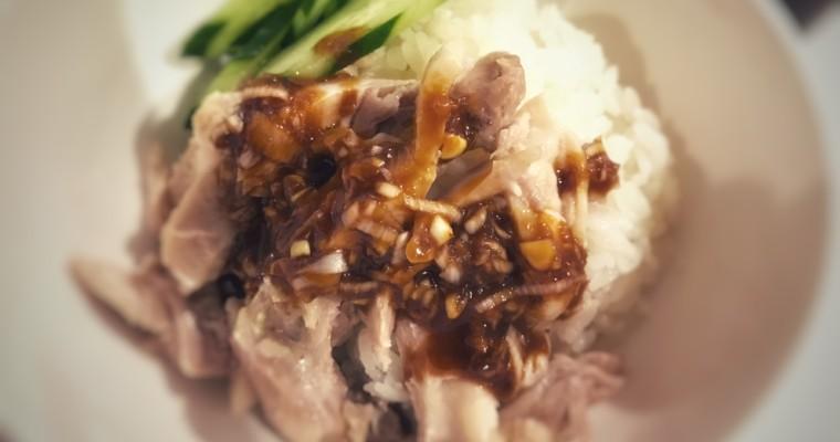 炊飯器だけで簡単仕上げ – 海南鶏飯(カオマンガイ)
