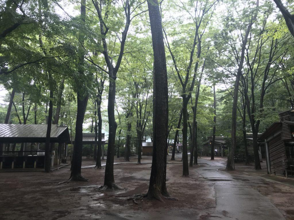 清水公園キャンプ場で一泊デイキャンプ
