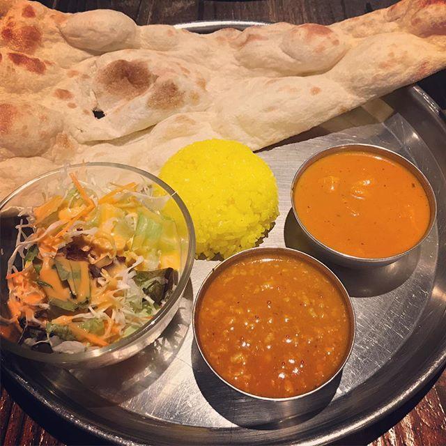 老舗インドカレーの真髄「エスニック料理 マハラジャ お茶の水店」の二種のカレーランチ