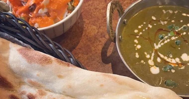 想像通りのネパール系「インド・ネパール料理 ユニーク」のサグカレー
