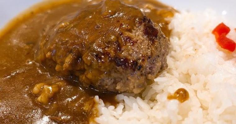 溢れる肉汁がたまらない「ハンバーグレストラン牛舎」のハンバーグカレー
