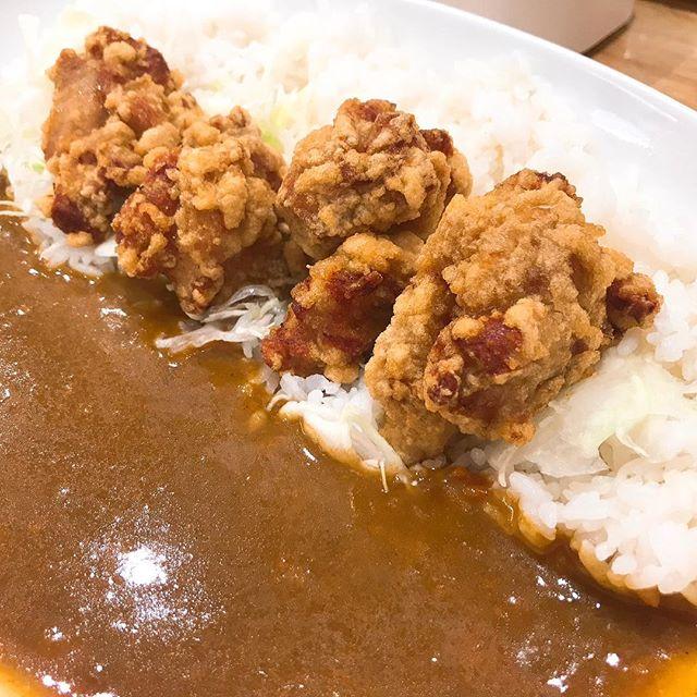 キレのある辛さとフルーティなルー 「ジョイアルカレー神田錦町店」のからあげカレー(4個)