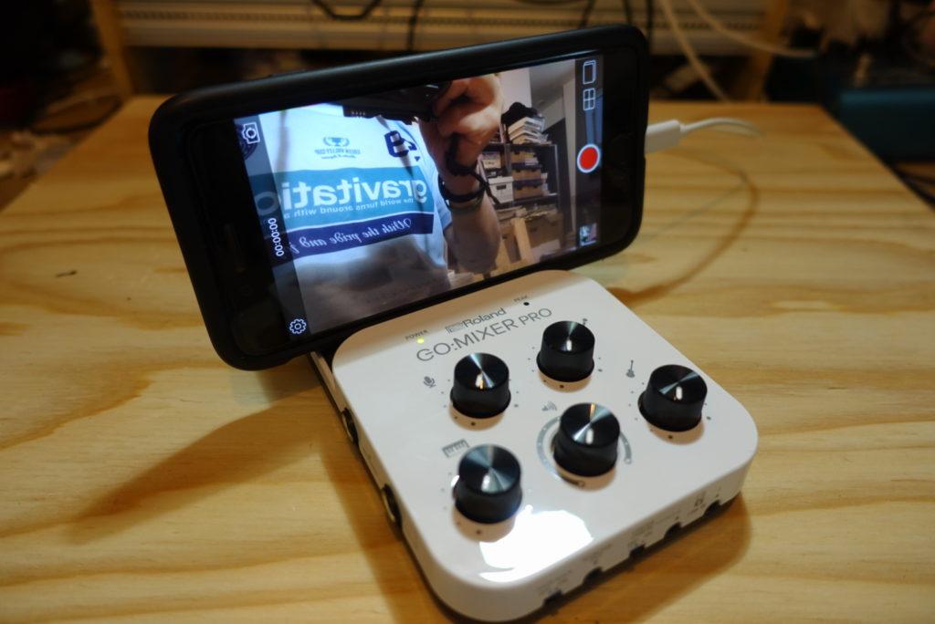 iPhone/Androidで使える簡易ミキサー Roland GO:MIXER PRO 開封レビュー